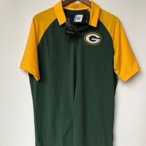 NWT NFL Nike Dri Fit Packers Shirt